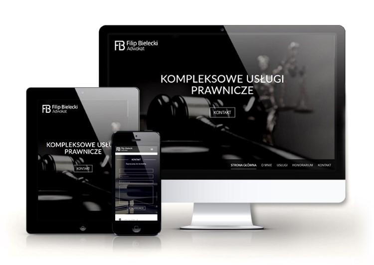 New responsive website