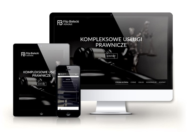 Responsive website design with CMS