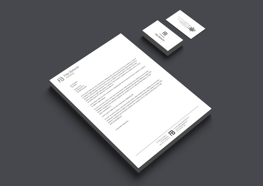 Graphic projects - business cards, leaflets, logo