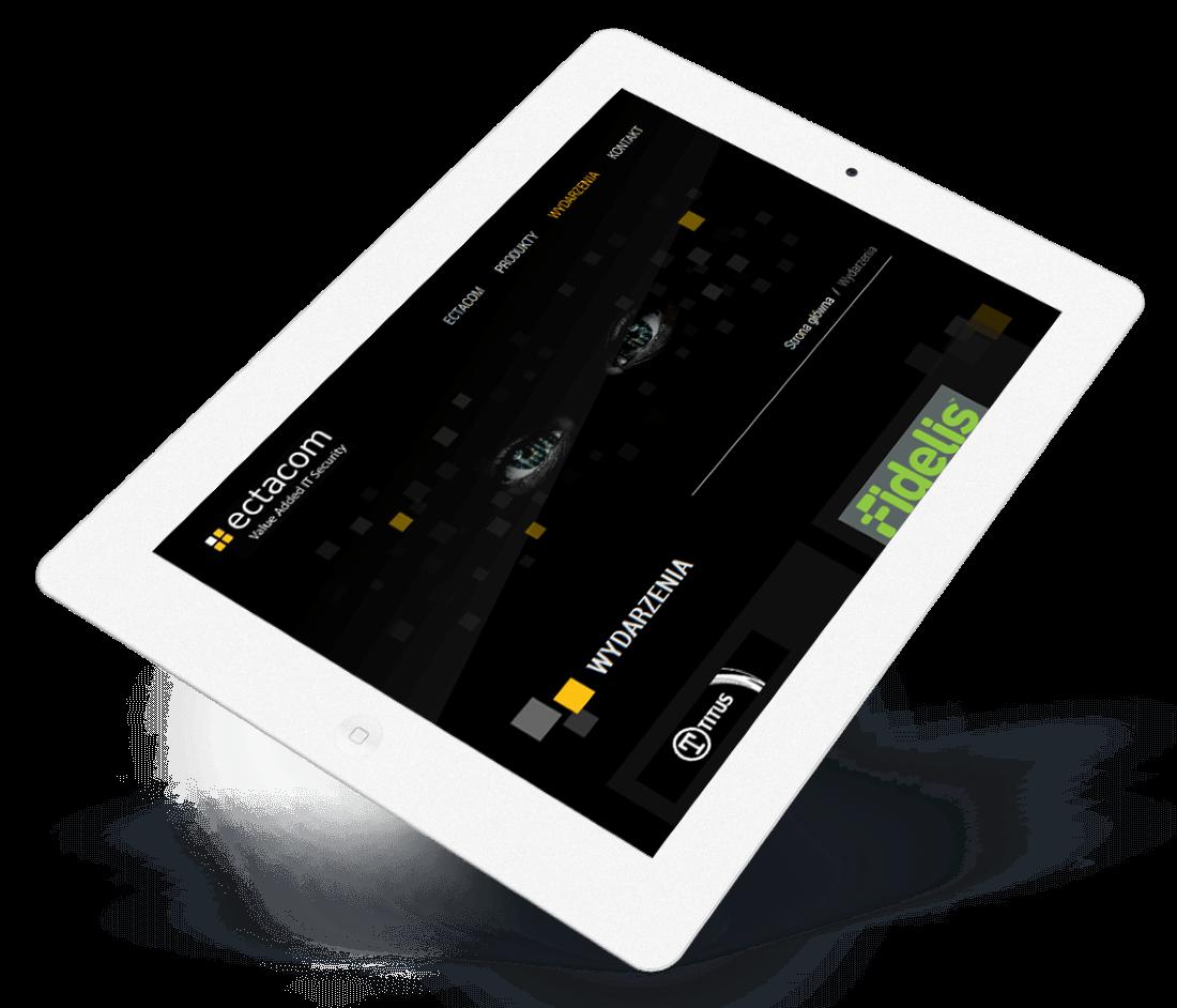 Ectacom website modern design